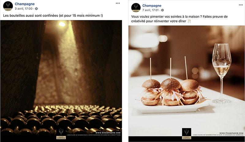 Publication du Comité Champagne - Agence Discovery