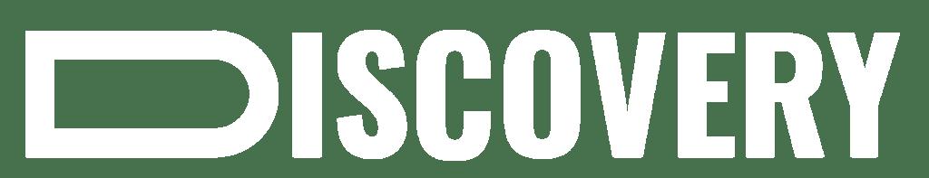 Logo agence discovery blanc