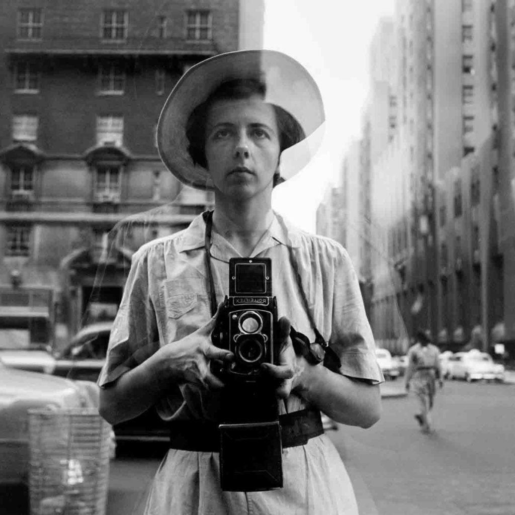 Autoportrait Vivian Maier - Agence Discovery