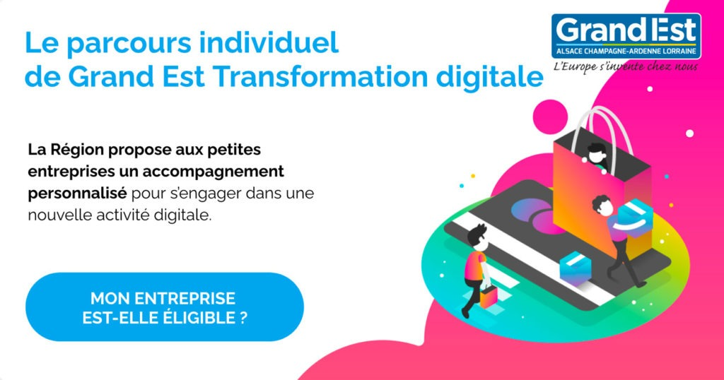 Dispositif Transformation digitale Grand Est - Agence Discovery