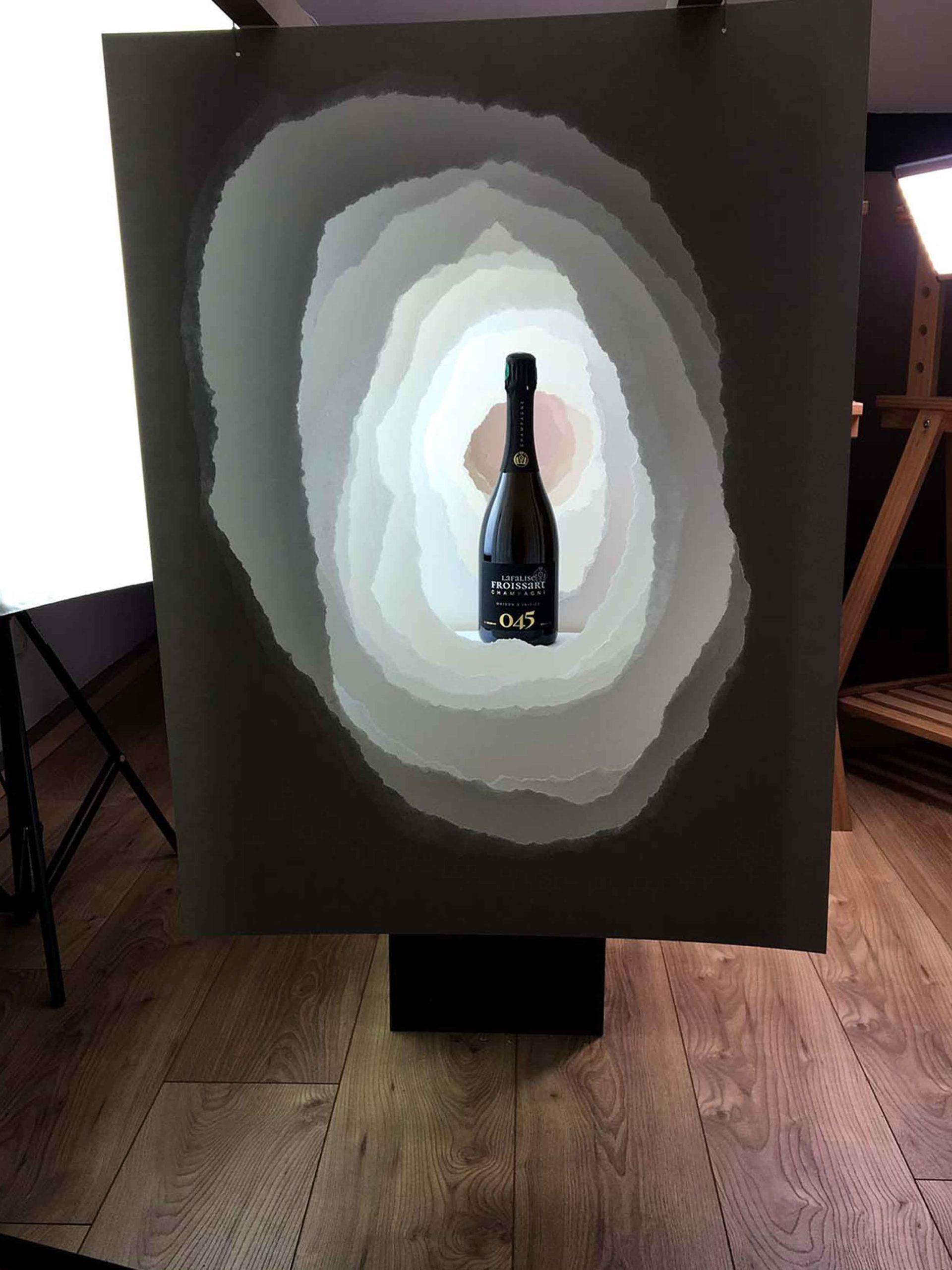 Packshots photo lifestyle 045 - Champagne Lafalise Froissart - Agence Discovery