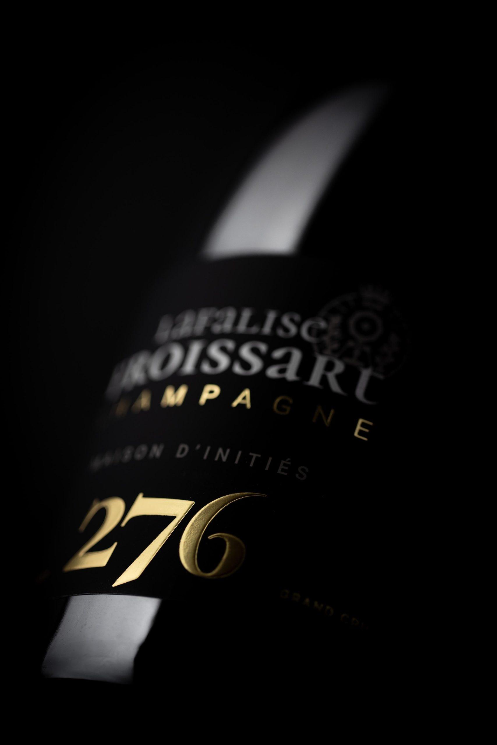 Packshots photo macro lifestyle 276 - Champagne Lafalise Froissart - Agence Discovery
