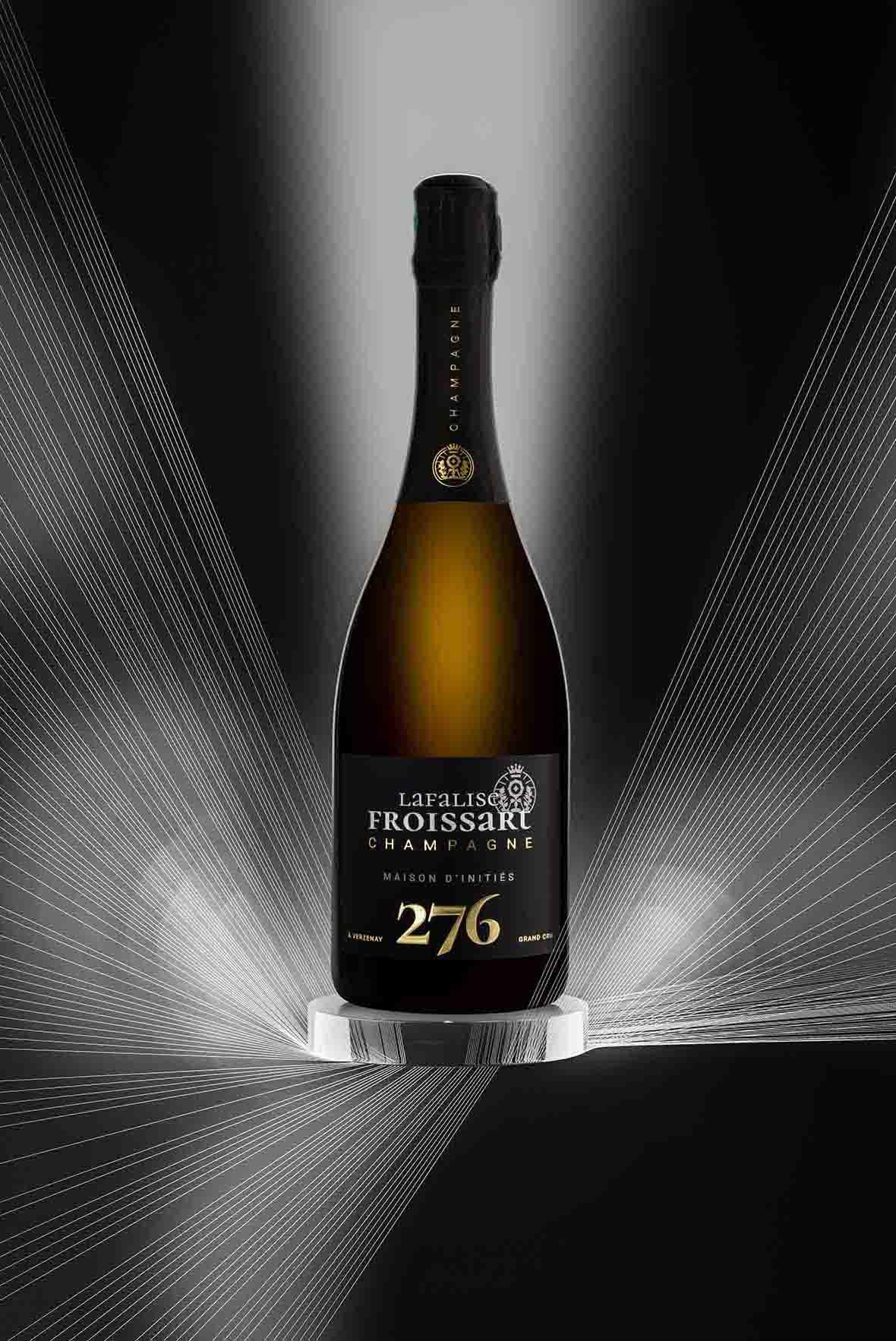 Packshots photo lifestyle 276 - Champagne Lafalise Froissart - Agence Discovery