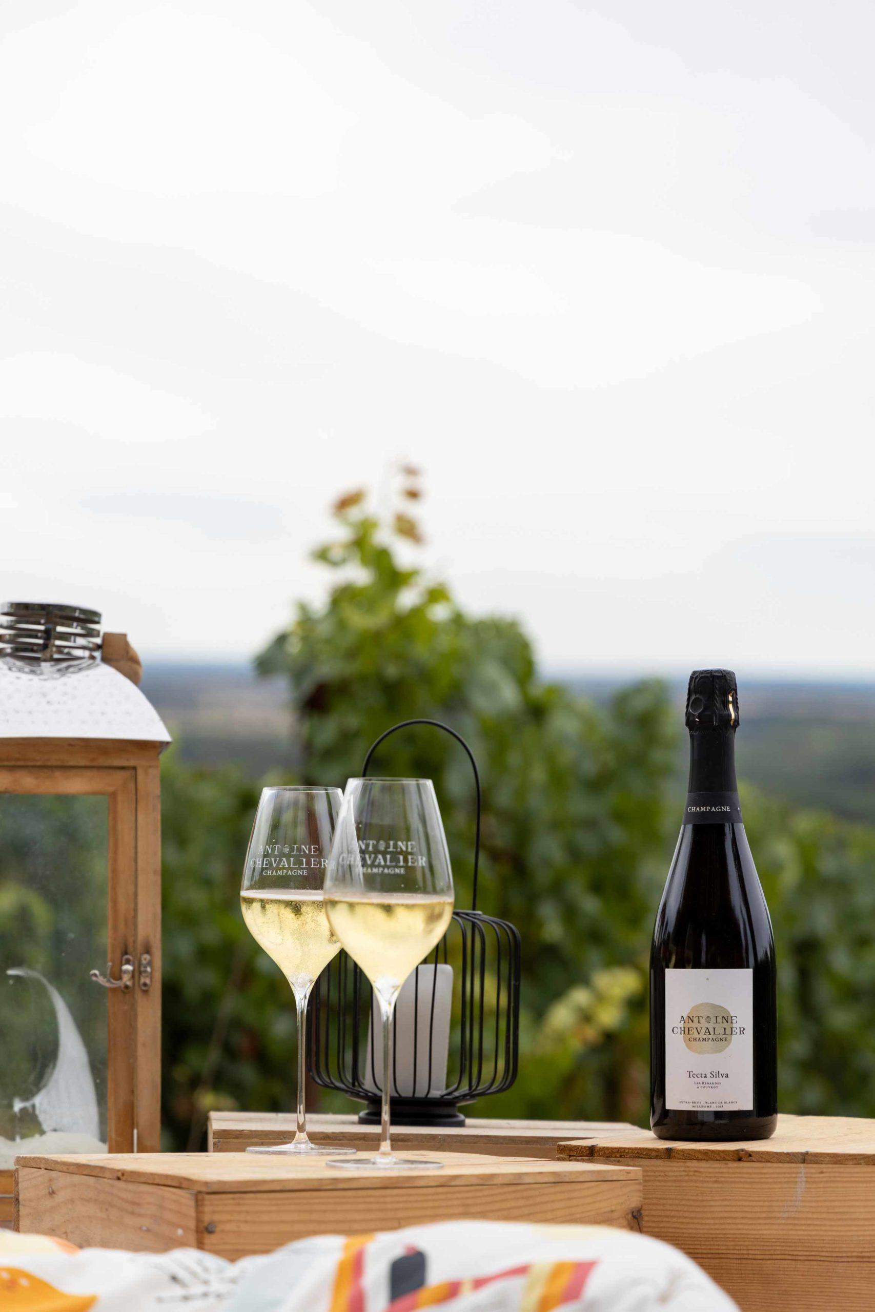 Reportage photo pour le Champagne Antoine Chevalier - Agence Discovery Reims & Paris