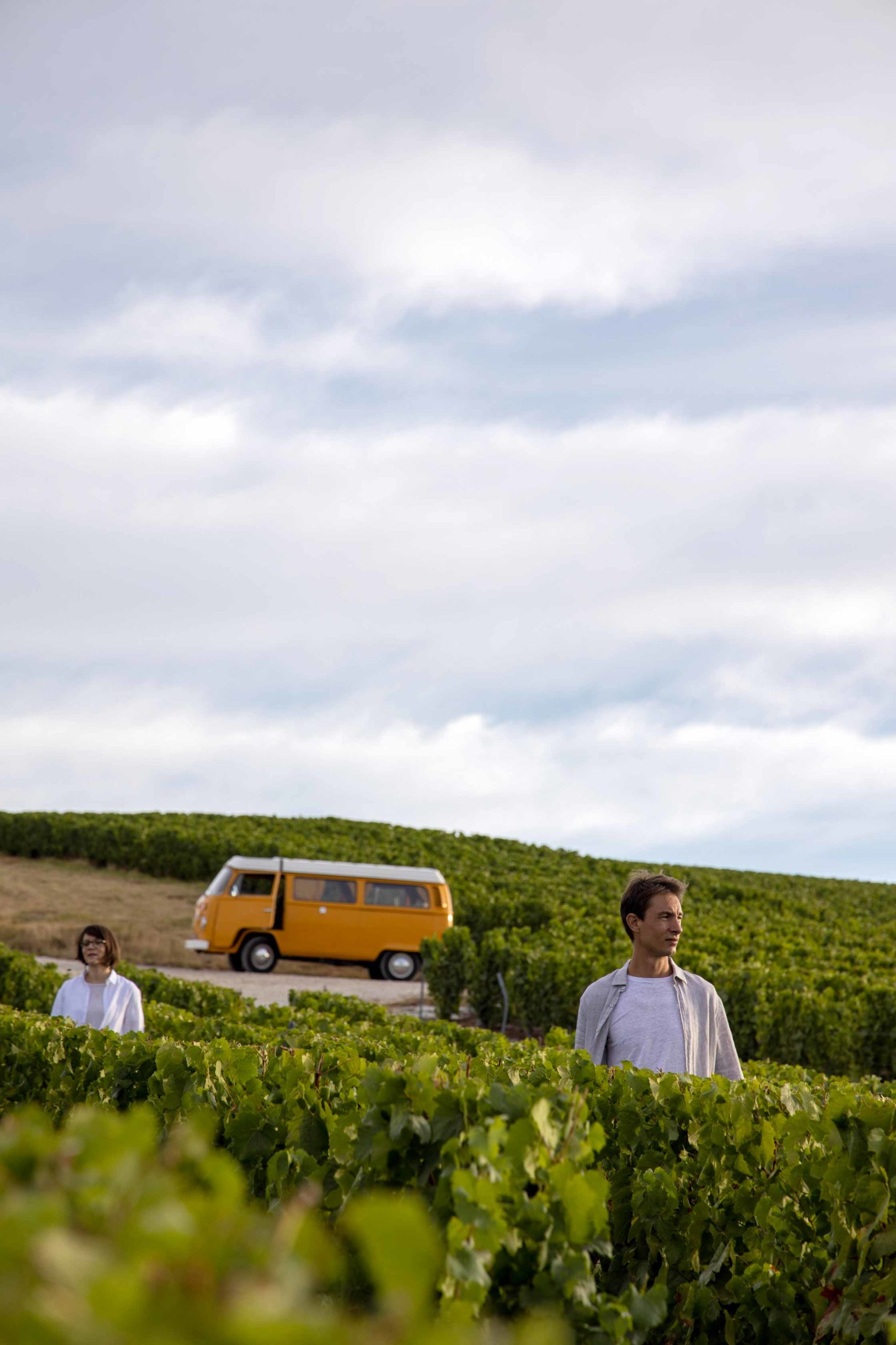 Reportage photo Champagne avec Antoine et Aurore Chevalier - Agence Discovery