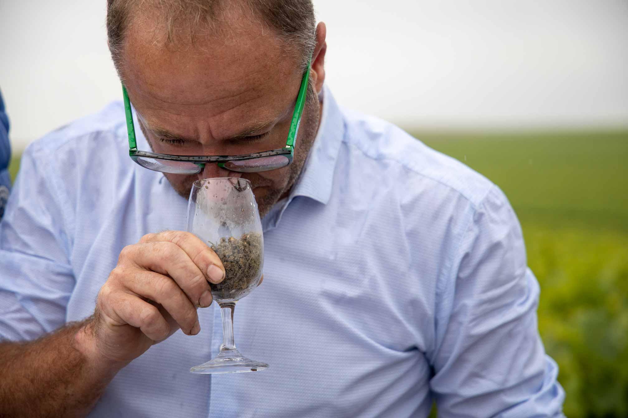 Benoit et le terroir du Champagne Benoit Cocteaux - Agence Identité terroir - Discovery branding Reims