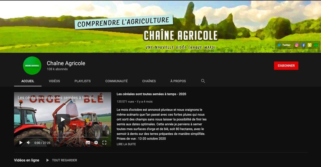 David Forge - Chaine Agricole - Recommandation Champagne R. Faivre - Les Nouveaux Explorateurs - Agence Discovery