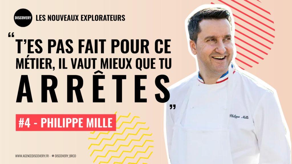 Philippe Mille, chef du Domaine Les Crayères - Podcast Les Nouveaux Explorateurs | Agence Discovery Reims