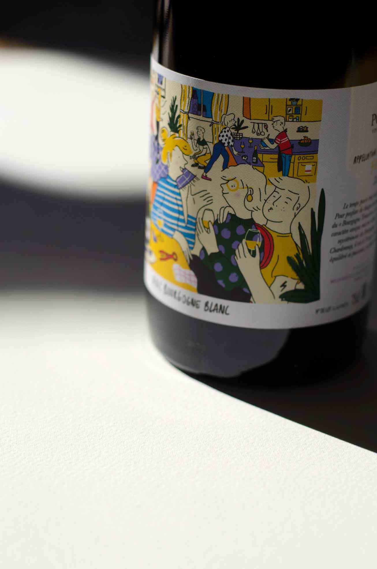 Bouteille Vin de Chablis - Tonnerre par L&C Poitout - Réalisation Agence Discovery