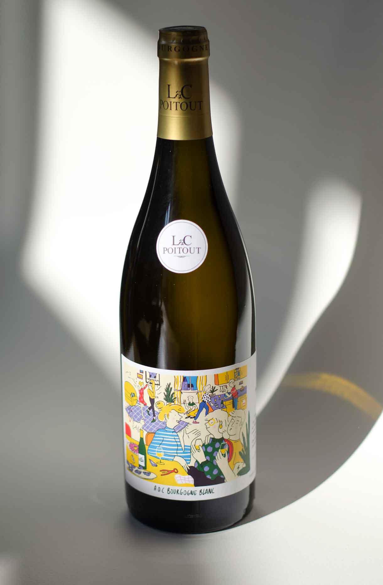 Bouteille Vin de Chablis blanc 05 - Tonnerre par L&C Poitout - Réalisation Agence Discovery