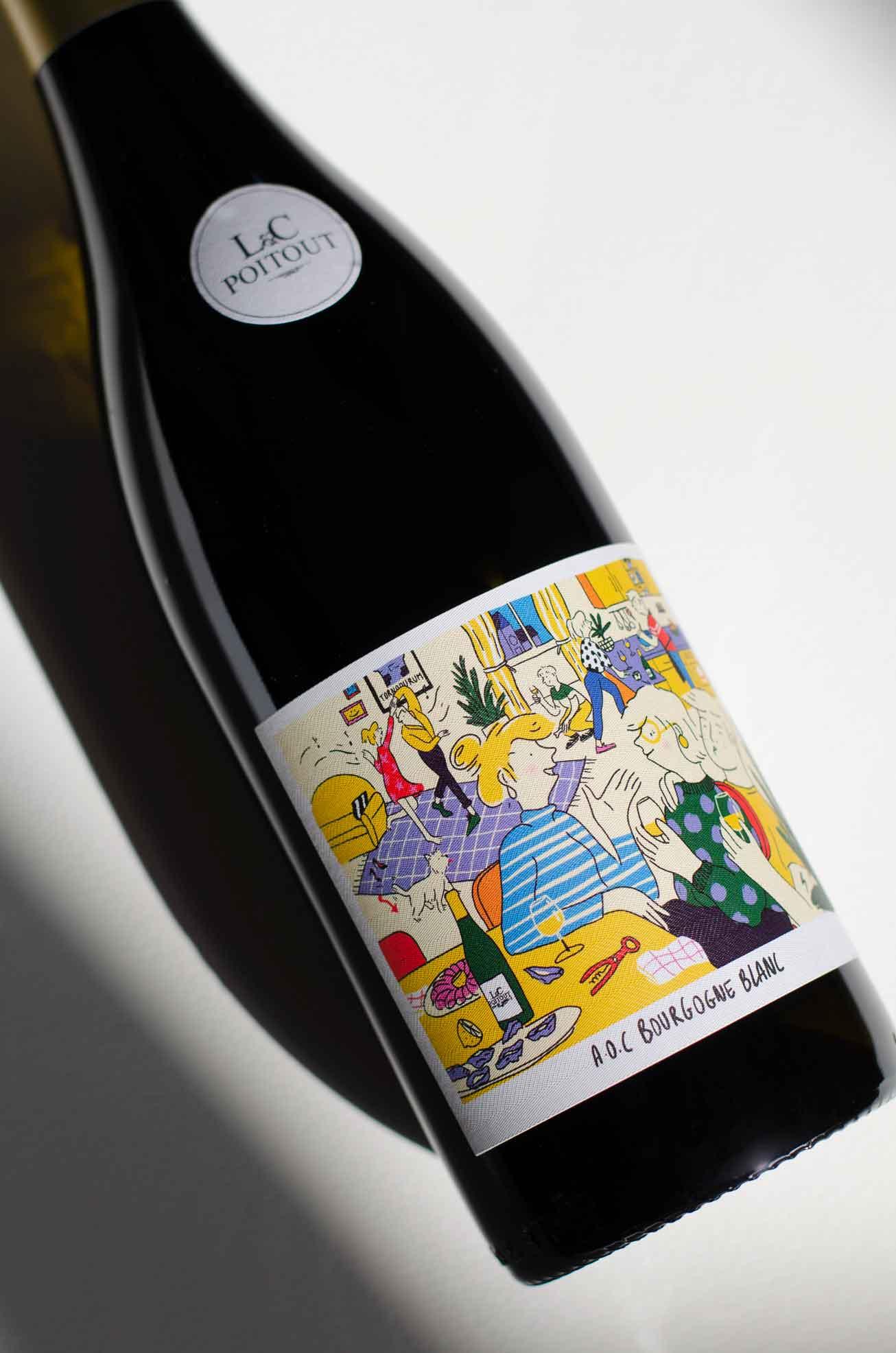 Bouteille Vin de Chablis blanc 03 - Tonnerre par L&C Poitout - Réalisation Agence Discovery