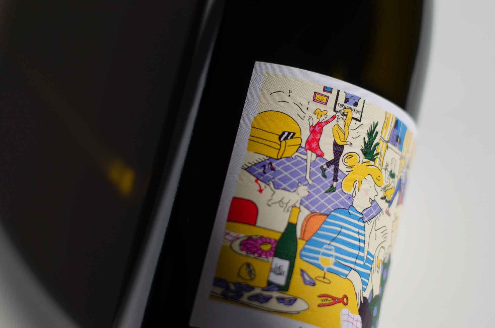 Vin de Chablis blanc 03 - Tonnerre par L&C Poitout - Réalisation Agence Discovery
